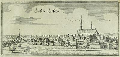 Matthäus Merian: Kloster Lorsch