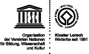 Logo UNSESCO und Kloster Lorsch